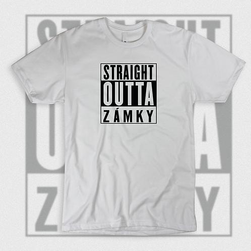 Straight Outta Zámky - T shirt unisex