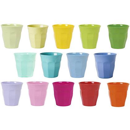 ★ כוס מלמין צבעונית חלקה