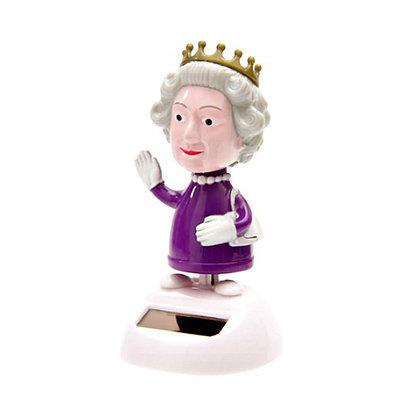 ★ בובה סולרית מרקדת - מלכת אנגליה