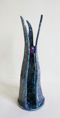 Candlestick blue