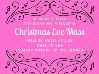 Christmas Eve 4pm Mass