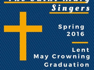 smSingers Spring 2016 Recordings