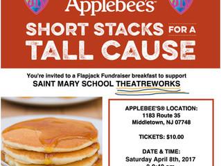 4/8 Applebee's Flapjack Fundraiser - Details!