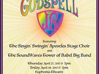 """""""Godspell Jr."""" Showtimes and Tix Info"""