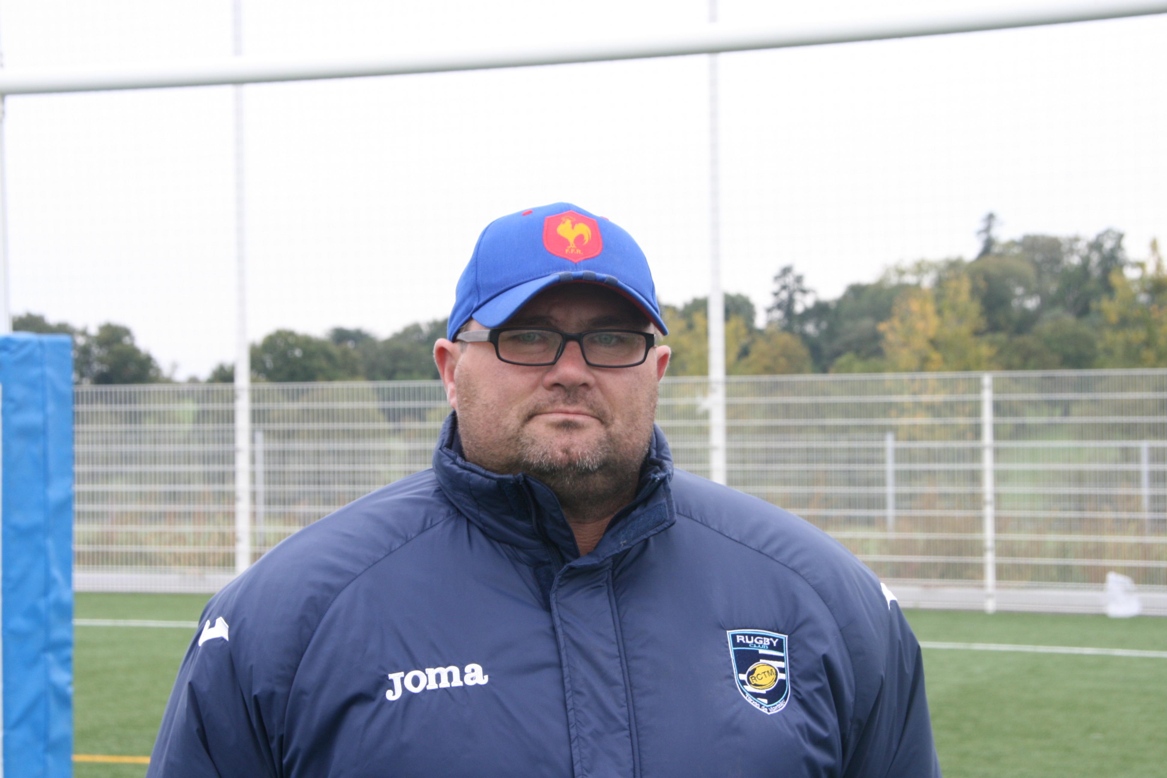 Laurent baillis (entraineur lignes arrieres)