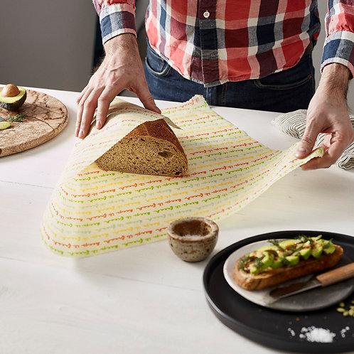 vegan food wraps, food wrap, food wraps, pano de cera vegan, panos de cera vegetal, embalagem de cartão
