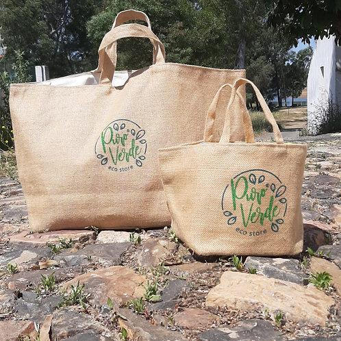 saco reutilizavel, saco reutilizavel de juta, saco reutilizavel de algodão