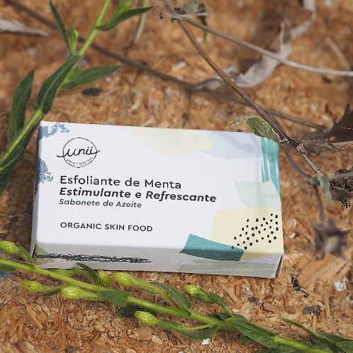 Sabonete Esfoliante de Menta