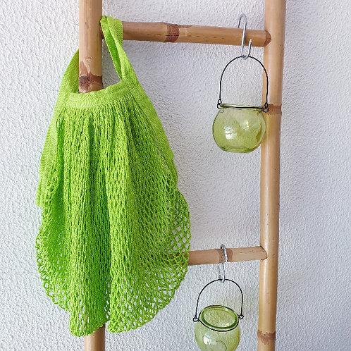 sacos 100%, sacos reutilizaveis algodão, sacos de rede, sacos de rede para compras