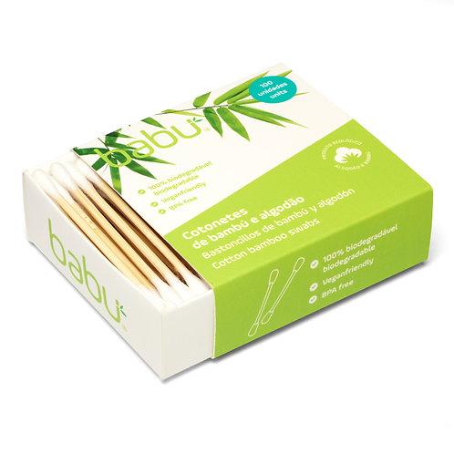 Cotonetes em Bambú