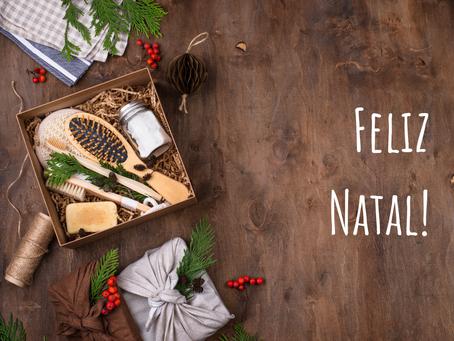Natal sustentável, reciclável, ecológico, sem embrulho e muito mais!