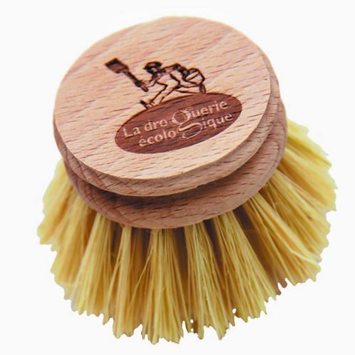 recarga escova da loiça, recarga da escova louça, escova louça madeira, escova para lavar louça, fibra natural