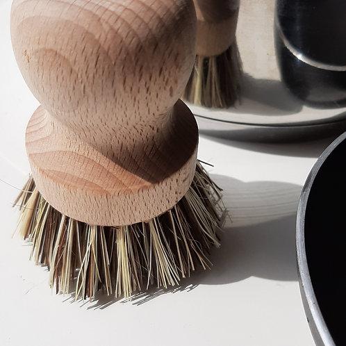 escova para lavar tachos, escova ecológica, escova de fibra vegetal, escova eco, tawashi, escova natural, compostável