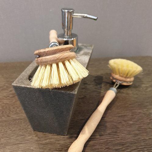 escova da loiça, escova louça, escova louça madeira, escova para lavar louça, fibra natural, fibra de agave