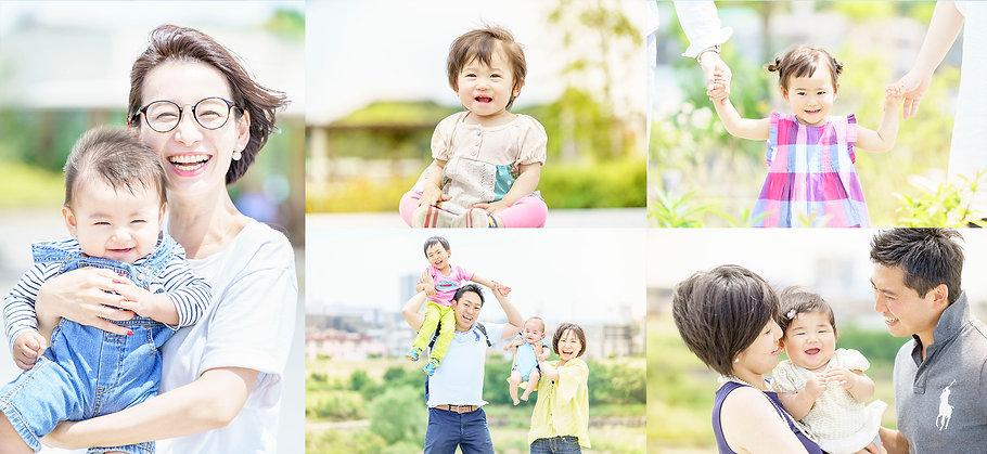 出張家族写真撮影カメラマン
