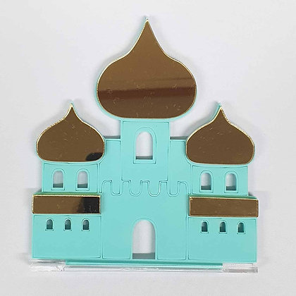 Double Color Aladdin Castle with stand