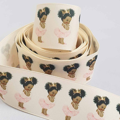 Luxury Black Princess Grosgrain Ribbon