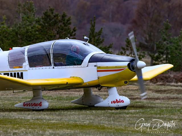 Robin pilot Ian Carruthers
