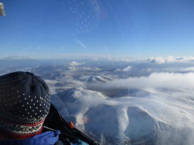Cairngorm wave in Winter