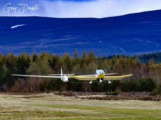 Puchacz takeoff