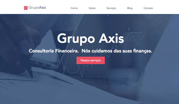 Ver todos os templates website templates – Consultoria Financeira