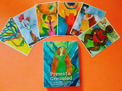 Present & Grounded Card Deck -  English eddition