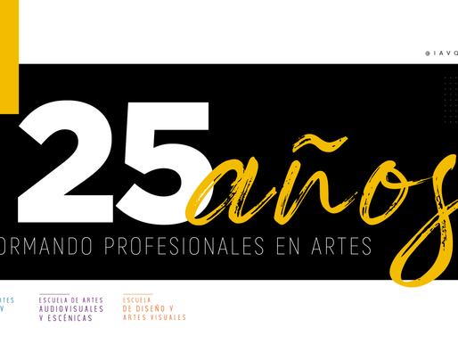 Celebramos nuestros 25 años de arte y educación con todos ustedes. 🎉🎊🎉