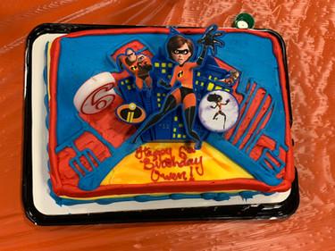 Owen's Incredibles cake