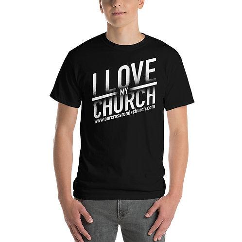 Mens I Love My Church T-Shirt