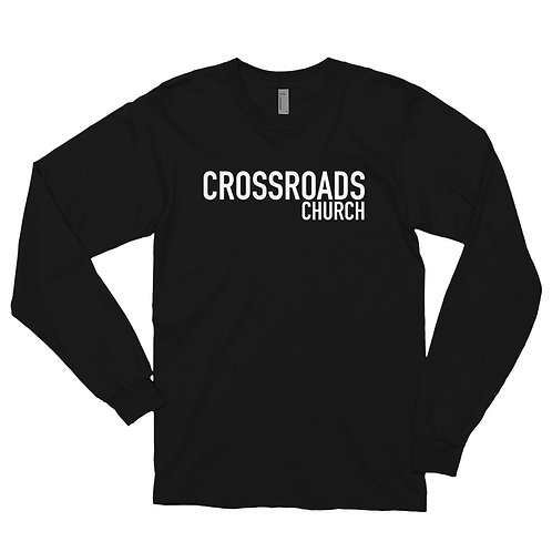 Crossroads Church Long sleeve t-shirt