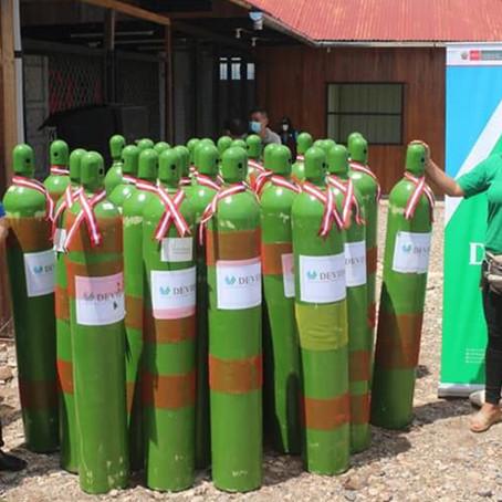 Inauguran planta de oxígeno en Aguaytía