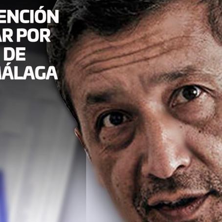 Piden detención preliminar por ocho días  de Germán Málaga