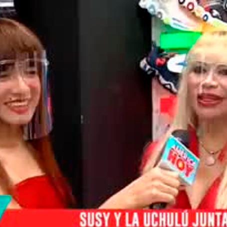 La Uchulú: Influencer ucayalino conoce por primera vez a Susy Díaz y revelan proyecto juntas