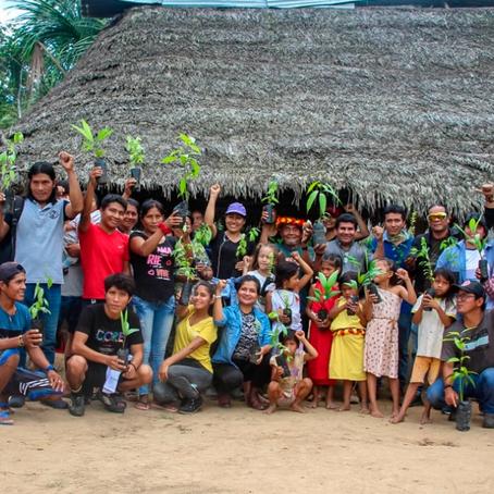 """""""Sembrando Huellas"""" impartió educación ambiental en comunidades nativas"""