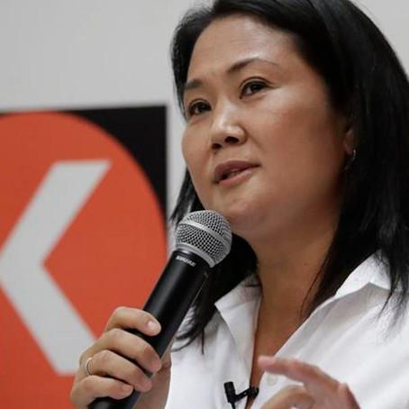 Poder Judicial autorizó a Keiko Fujimori para viajes internos en medio de su campaña electoral