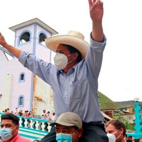 Pedro Castillo llega a Ucayali