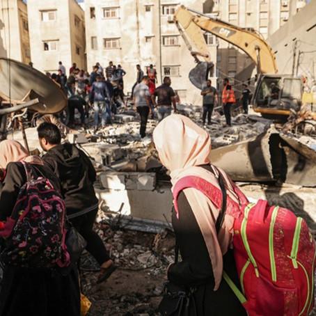 Israel acepta un alto al fuego tras 11 días de bombardeos
