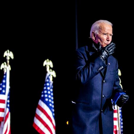 La Juramentación de Joe Biden como el nuevo presidente de Estados Unidos