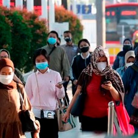 Asia: Indonesia registra 44.721 casos de COVID-19