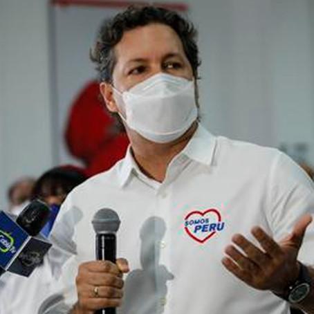 """Daniel Salaverry: """"No tengo acuerdos políticos ni alianza con Pedro Castillo"""""""