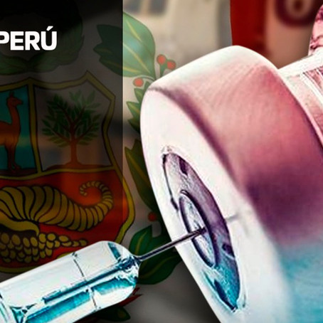 Vacunas llegaron al Perú