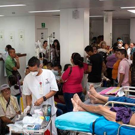 Colombia: En medio de la crisis política, hospitales colapsan por la COVID-19