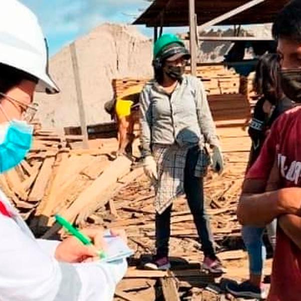Trabajadores de aserraderos exponían sus vidas