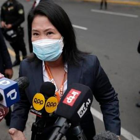 Instituto de Estudios Peruanos: El 69% desaprueba el desempeño de Keiko Fujimori