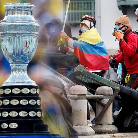 Conflictos sociales en Colombia originaria que deje de ser sede de la Copa América