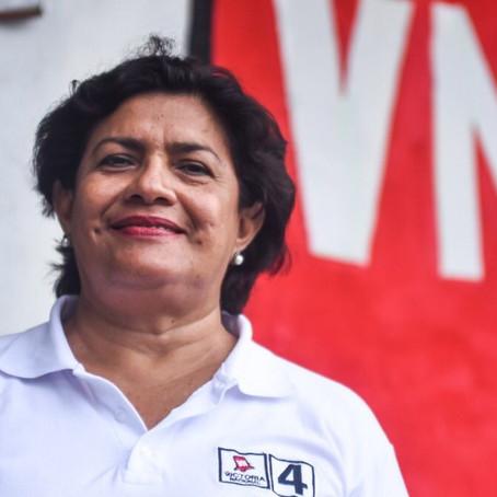 """Yris Silva: """"Es momento que las mujeres tengamos un rol protagónico en el Congreso""""."""