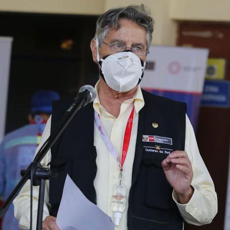 Sagasti: 20 plantas de oxígeno medicinal están en proceso de ser adquiridas