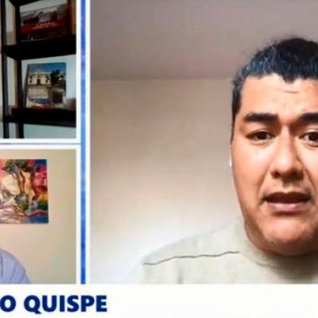 """Antonio Quispe: """"Es un reto vacunar a los mayores de 18 años a fin de año"""""""