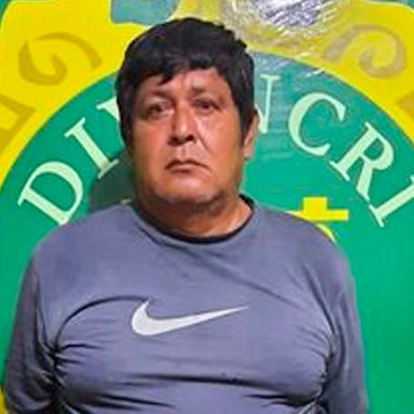 Capturan en Manantay a sujeto acusado de violar a su hija