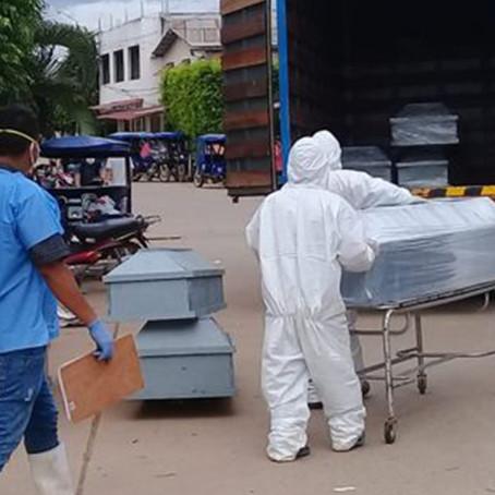 Perú presenta un descenso de fallecidos